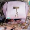 พร้อมส่ง KB-623-1-สีม่วงมุก กระเป๋าสะพายไซร์มินิน่ารักสายสะพายโซ่แต่งอะไหล่รูปกวาง