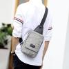 Pre-order กระเป๋าผู้ชายคาดอกแฟชั่นเกาหลี ใส่ ipad 8 นิ้ว Messenger แต่งตามอนสเตอร์ รหัส Man-5969