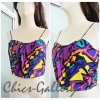 FINAL SALE OVER 40% 90'C GRAFFITI PRINT BRALET