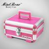 (preorder)กล่องเครื่องสำอางค์ Mint Bear ขนาด 30*22*14 สีชมพู