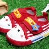 รองเท้าเด็กหัดเดิน สีแดง 5คู่/แพ็ค ไซส์ 13.5 14 14.5 15