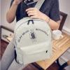 Pre-order กระเป๋าเป้สะพายหลัง น่ารักๆ เรียบง่าย ลวดลายเก๋ๆ แฟชั่นเกาหลีน่ารัก Fashion bag รหัส G-2113