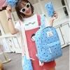 Pre-order กระเป๋าเป้สะพายหลัง เซ็ต4ใบ ลายน่ารักเก๋ๆ แฟชั่นเกาหลีน่ารัก Fashion bag รหัส G-3682