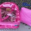 พร้อมส่ง HB-5358-สีบานเย็น กระเป๋าเป้ใสพร้อมใบเล็กด้านใน