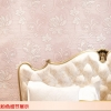 วอลเปเปอร์ 3มิติ ลายดอกบัวคลาสสิก ชมพู(550203) Wall-WE11