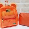 พร้อมส่ง HB-5353-สีส้ม กระเป๋าเป้พลาสติกใส-Mickey-design-เป็นได้ทั้งเป้และสะพาย