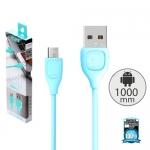 สายชาร์จ remax RC-050M LESU สำหรับ Micro USB สีฟ้า