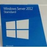 Microsoft window sever 2012 standard (FPP key) 1User/ 5 Clt