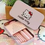 ชุดแปรงแต่งหน้า พร้อมกล่อง Hello Kitty