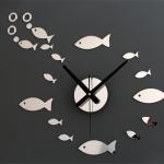 นาฬิกาปลาน้อยน่ารัก สีเงิน gear29
