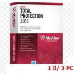 McAfee Total Protection 2013 1 ปี/ 3PC (เฉพาะ Key-code)