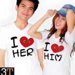 เสื้อครอบครัว 3T - I love
