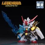 [Gunpla Expo 2015] BB Senshi Legend BB Zero Gundam Metalic Ver.