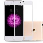 ฟิล์มกระจกTronta ไอโฟน6/6S ไทเทเนียม สีขาว