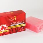 สบู่กลูต้า คอลลาเจน สาหร่ายแดง RED ALGAE Astaxanthin Beauty Soap