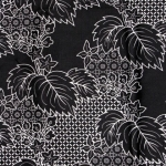 ผ้าถุงขาวดำ ec4107bk