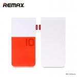 พาวเวอร์แบงค์ remax 10000 mAh Colorful สีเเดง