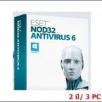 ESET NOD32 Antivirus 8 2 ปี/ 3PC (เฉพาะ Key-code)
