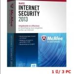 McAfee Internet Security 2013 1 ปี/ 3PC (เฉพาะ Key-code)