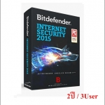 Bitdefender Internet Security 2015 2 ปี/ 3User (เฉพาะ Key-code)