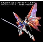 "[P-Bandai] RG 1/144 Destiny Gundam Expansion Effect Unit ""Wing of Light"""
