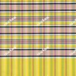 ผ้าขาวม้า TK081 สีเหลือง (เชิงเดียว)