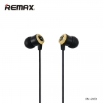 หูฟัง remax สมอลทอร์ค RM-690D สีดำ