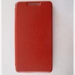 เคส HTC desire 816 ฝาพับหนังสีน้ำตาล