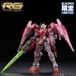 [Gunpla Expo 2015] RG 1/144 Gundam 00 Raiser Trans-am Clear Ver.