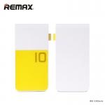 พาวเวอร์แบงค์ remax 10000 mAh Colorful สีเหลือง