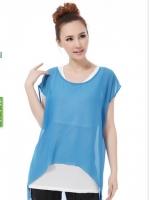 CN075 (จีน) เสื้อคลุมท้องให้นม มี 2 สี