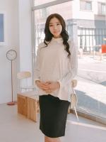 TE148(เกาหลี)เสื้อคลุมท้อง