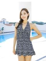 SW020 (เกาหลี) ชุดว่ายน้ำคนท้อง ชุดว่ายน้ำคนอ้วน