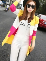 CG023 (จีน)เสื้อคลุมตัวนอก (คาร์ดิแกน) มี 3 สี
