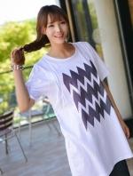 (เกาหลี) เสื้อให้นม (สีขาว)