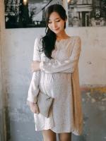 DR114(เกาหลี)ชุดคลุมท้อง