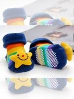 KID003 (จีน) ถุงเท้าเด็กทารก Size 7-9 Cm ลวดลายสามมิติ น่ารักสุดๆ ไม่ระคายเคืองกับลูกน้อย เป็นพร็อพที่ห้ามพลาด