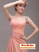 ++ แฟชั่นชุดราตรียาว ชุดราตรีสีชมพู ชุดไปงานแต่งงาน ชุดออกงาน สไตส์แบบนี้สวยพอมั้ย !!! คัดสรรมาอย่างดี