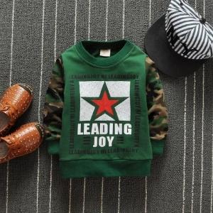 เสื้อกันหนาวแขนลายทหารหล่อม๊าก &#x1F499 สีเขียวเข้มราคายกแพ็ค 4 ตัว / 600บาท