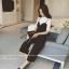แฟชั่นเกาหลี set เสื้อ และกางเกงสุดสวย ผ้าเนื้อนิ่มยืดหยุ่นได้ดี thumbnail 3