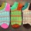 S273**พร้อมส่ง** (ปลีก+ส่ง) ถุงเท้าแฟชั่นเกาหลี ข้อสั้น เนื้อดี งานนำเข้า(Made in China) thumbnail 5