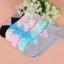 S344 **พร้อมส่ง** (ปลีก+ส่ง) ถุงเท้าแฟชั่นเกาหลี ข้อสั้น คละ 5 สี มี 12 คู่/แพ็ค เนื้อดี งานนำเข้า(Made in China) thumbnail 11