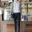 เสื้อทำงาน แฟชั่นเกาหลี ด้านหน้าเป็นผ้าลูกไม้ เสื้อเป็นผ้ามัน คอกลม ประดับพลอยที่คอ ซิปหลังครึ่งตัว เสื้อสีขาว-ดำ สวยมากๆ thumbnail 3
