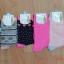 S251**พร้อมส่ง** (ปลีก+ส่ง) ถุงเท้าแฟชั่นเกาหลี ข้อยาว คละ 6 สี เนื้อดี งานนำเข้า(Made in China) thumbnail 1