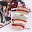 S352 **พร้อมส่ง** (ปลีก+ส่ง) ถุงเท้าแฟชั่นเกาหลี ข้อยาว คละ 5 สี มี 10 คู่/แพ็ค เนื้อดี งานนำเข้า(Made in China) thumbnail 13