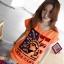 เสื้อยืดแฟชั่น แขนเบิ้ล ลาย Liberty III สีส้ม thumbnail 1
