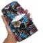 กระเป๋าสตางค์ปลากระเบน แบบ 3 พับ เม็ดใหญ่ ลวดลาย ดอกไม้และผีเสื้อราตรี หลากสีสีน Line id : 0853457150 thumbnail 2