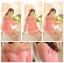 ชุดเดรสชีฟอง ผ้าชนิดหนา เนื้อทราย สีชมพู หน้าอกแต่งด้วยคริสตรัลรูปวงรี สีชมพูเข้มและอ่อน สวยมากๆ thumbnail 3
