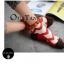 S367**พร้อมส่ง** (ปลีก+ส่ง) ถุงเท้าแฟชั่นเกาหลี ข้อสั้น แต่งขอบ ประดับลูกตุ้ม เนื้อดี งานนำเข้า(Made in china) thumbnail 8