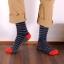 S368**พร้อมส่ง** (ปลีก+ส่ง) ถุงเท้าแฟชั่นเกาหลี ชาย ข้อยาว เนื้อดี งานนำเข้า(Made in china) thumbnail 5